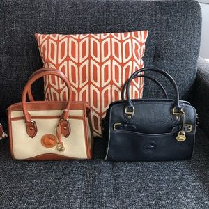 FINAL DROP Vintage Dooney & Bourke Leather Handbag